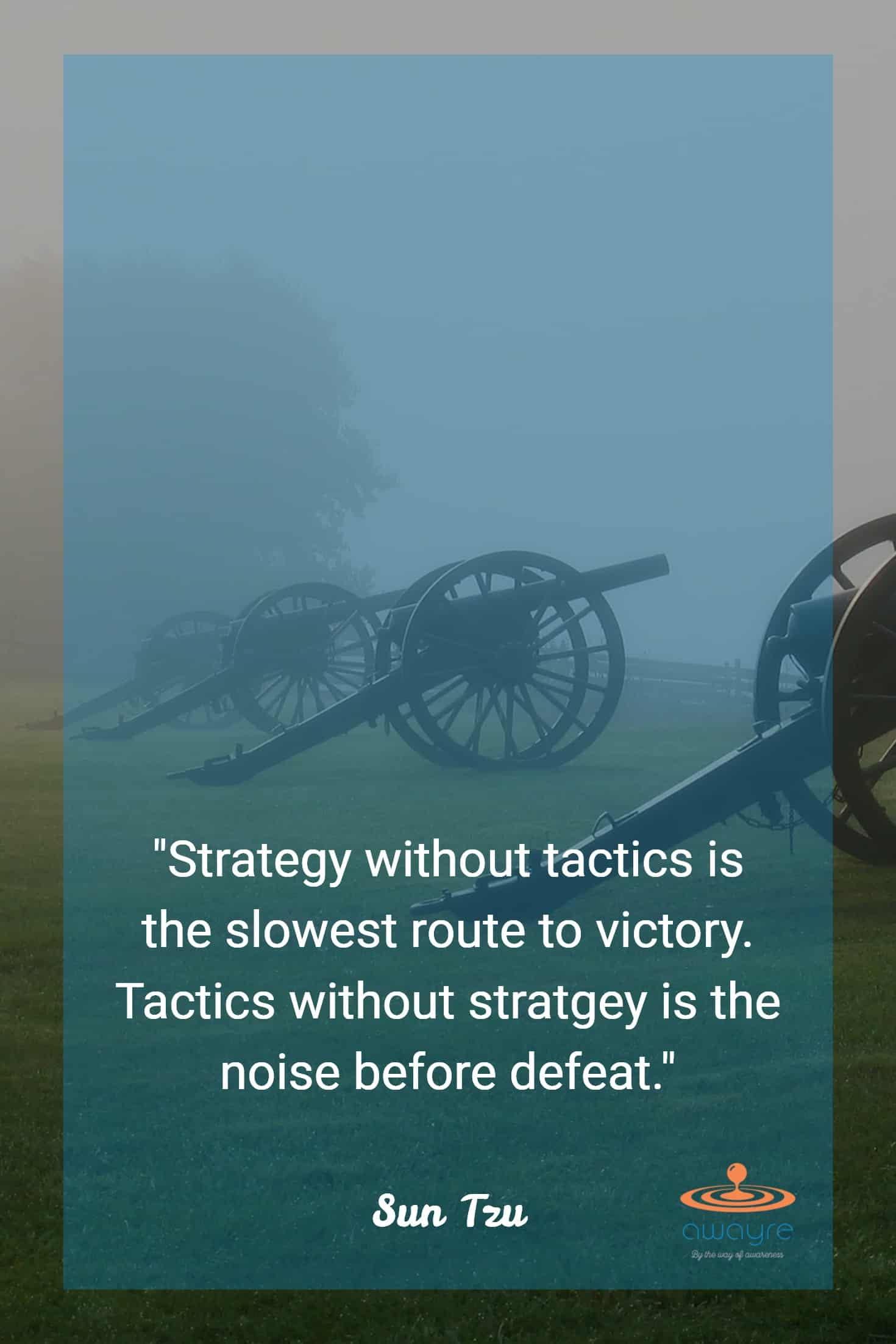 Strategy Without Tactics Sun Tzu